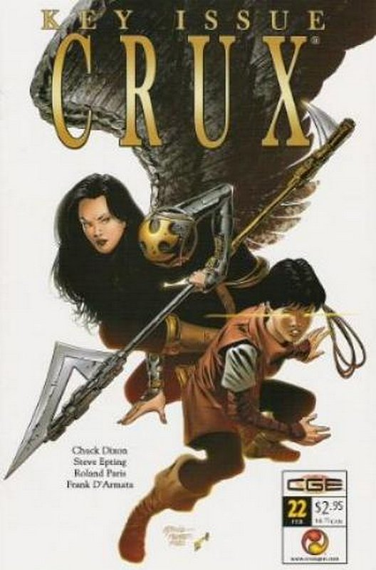 Cover of Crux (Vol 1) #22. One of 250,000 Vintage American Comics on sale from Krypton!
