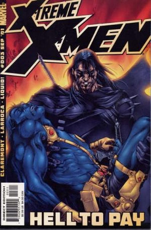 Cover of X-treme X-Men (Vol 1) #3. One of 250,000 Vintage American Comics on sale from Krypton!