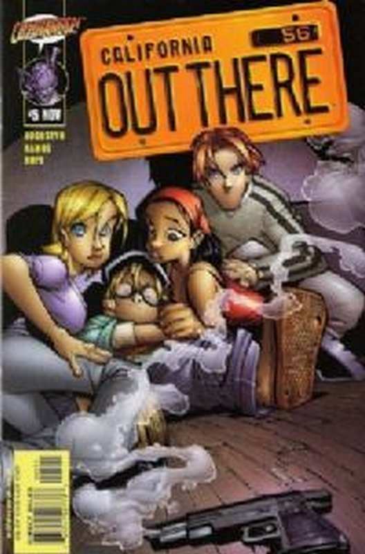Cover of Out There (Vol 1) California #5. One of 250,000 Vintage American Comics on sale from Krypton!