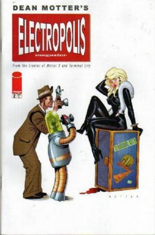 Cover of Electropolis (2001 Ltd) #2. One of 250,000 Vintage American Comics on sale from Krypton!