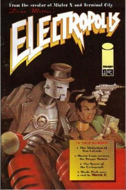 Cover of Electropolis (2001 Ltd) #3. One of 250,000 Vintage American Comics on sale from Krypton!