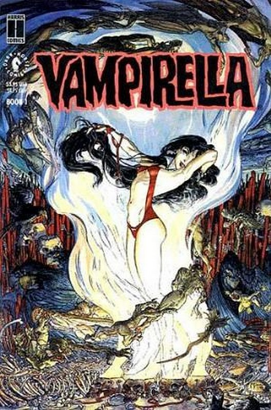 Cover of Vampirella: Morning in America (1991 Ltd) #1. One of 250,000 Vintage American Comics on sale from Krypton!