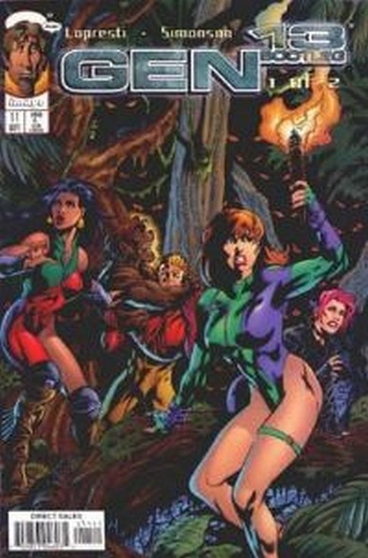 Cover of Gen 13 Bootleg (Vol 1) #11. One of 250,000 Vintage American Comics on sale from Krypton!