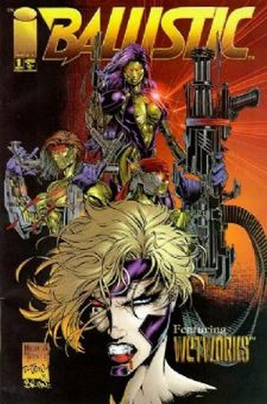 Cover of Ballistic (1995 Ltd) #1. One of 250,000 Vintage American Comics on sale from Krypton!