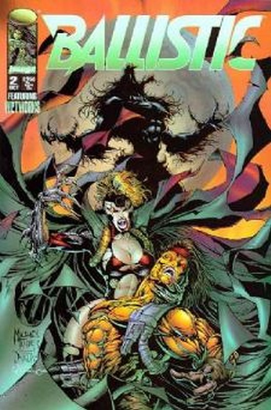 Cover of Ballistic (1995 Ltd) #2. One of 250,000 Vintage American Comics on sale from Krypton!