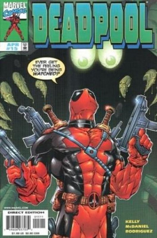 Cover of Deadpool (Vol 1) #15. One of 250,000 Vintage American Comics on sale from Krypton!