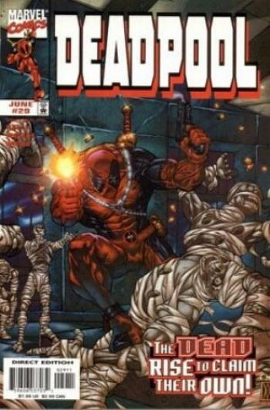 Cover of Deadpool (Vol 1) #29. One of 250,000 Vintage American Comics on sale from Krypton!