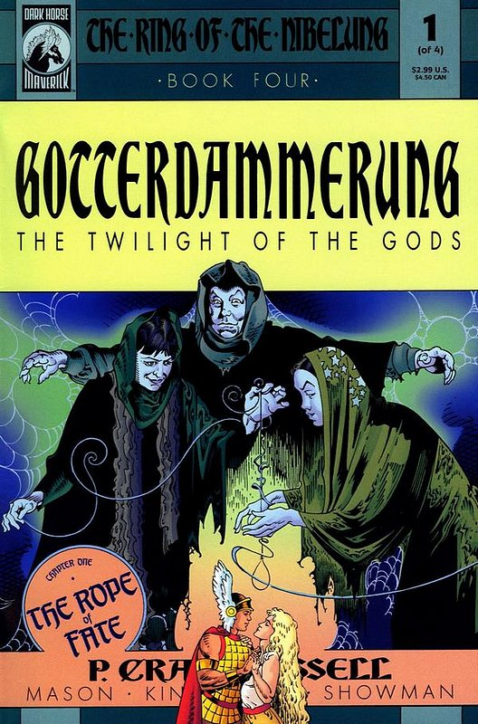 Cover of Ring of the Nibelung: Gotterdammerung (2001 Ltd) #1. One of 250,000 Vintage American Comics on sale from Krypton!