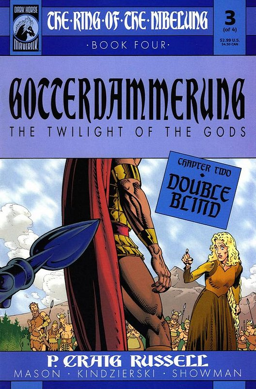Cover of Ring of the Nibelung: Gotterdammerung (2001 Ltd) #3. One of 250,000 Vintage American Comics on sale from Krypton!