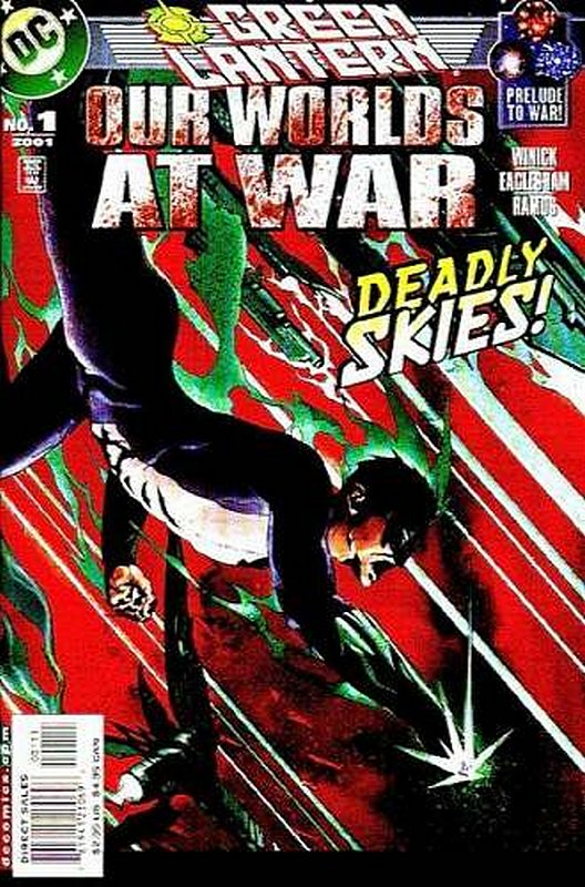Cover of Green Lantern: Our Worlds at War (2001 One Shot) #1. One of 250,000 Vintage American Comics on sale from Krypton!