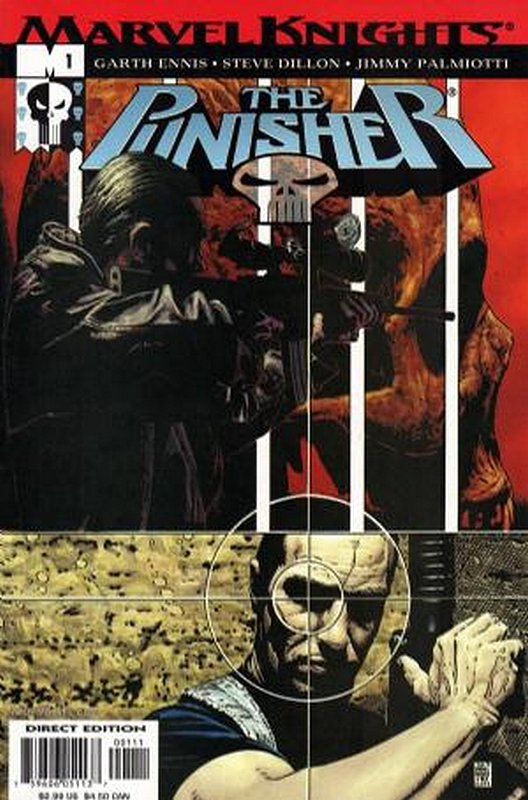 Cover of Punisher (Vol 3) #1. One of 250,000 Vintage American Comics on sale from Krypton!