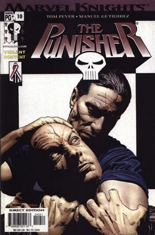 Cover of Punisher (Vol 3) #10. One of 250,000 Vintage American Comics on sale from Krypton!