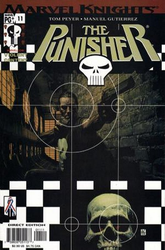 Cover of Punisher (Vol 3) #11. One of 250,000 Vintage American Comics on sale from Krypton!