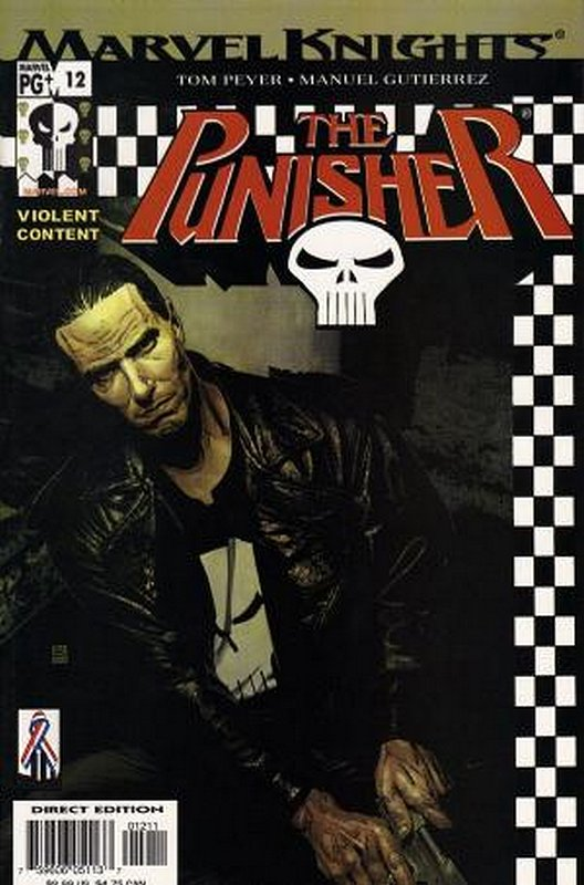 Cover of Punisher (Vol 3) #12. One of 250,000 Vintage American Comics on sale from Krypton!