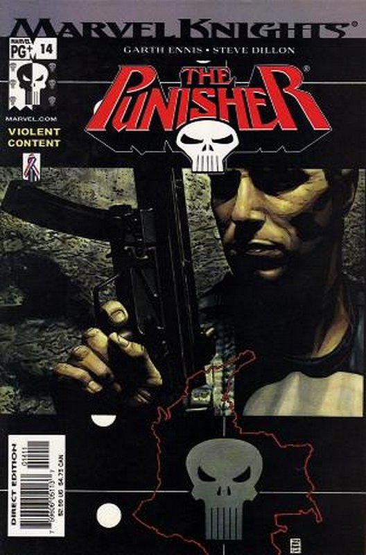 Cover of Punisher (Vol 3) #14. One of 250,000 Vintage American Comics on sale from Krypton!