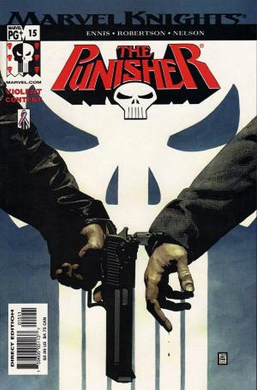 Cover of Punisher (Vol 3) #15. One of 250,000 Vintage American Comics on sale from Krypton!