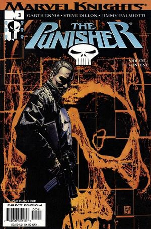 Cover of Punisher (Vol 3) #3. One of 250,000 Vintage American Comics on sale from Krypton!