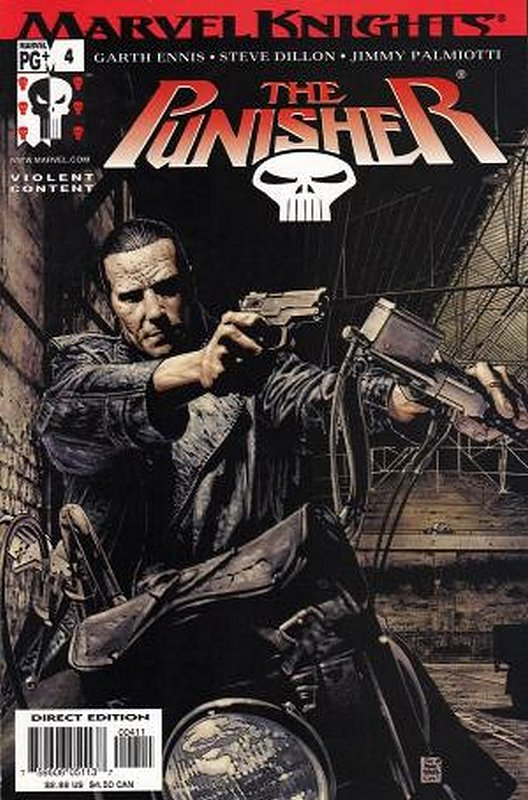 Cover of Punisher (Vol 3) #4. One of 250,000 Vintage American Comics on sale from Krypton!