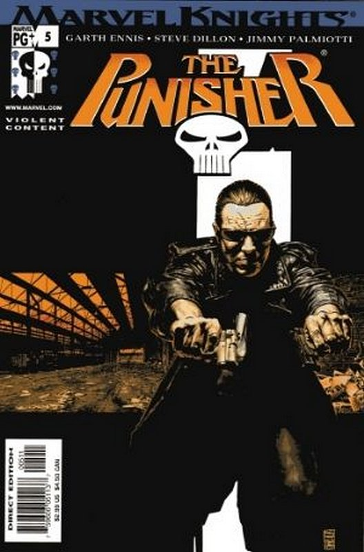 Cover of Punisher (Vol 3) #5. One of 250,000 Vintage American Comics on sale from Krypton!