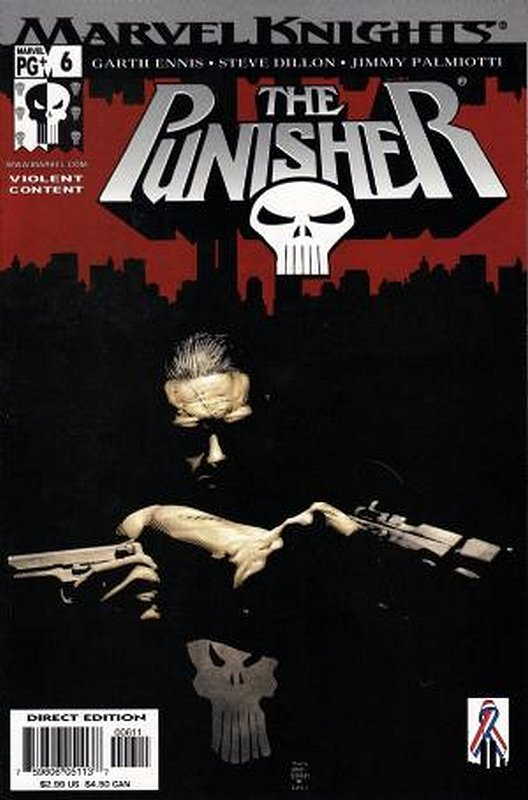 Cover of Punisher (Vol 3) #6. One of 250,000 Vintage American Comics on sale from Krypton!