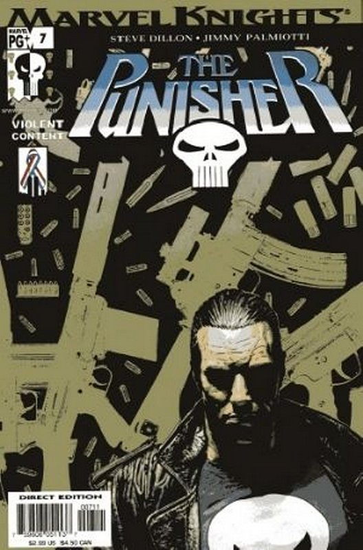 Cover of Punisher (Vol 3) #7. One of 250,000 Vintage American Comics on sale from Krypton!