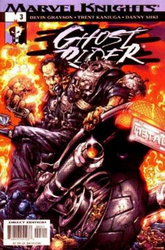 Cover of Ghost Rider (2001 Ltd) #3. One of 250,000 Vintage American Comics on sale from Krypton!