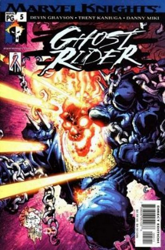 Cover of Ghost Rider (2001 Ltd) #5. One of 250,000 Vintage American Comics on sale from Krypton!