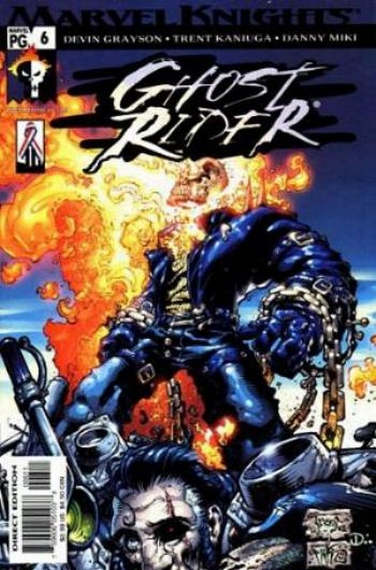 Cover of Ghost Rider (2001 Ltd) #6. One of 250,000 Vintage American Comics on sale from Krypton!