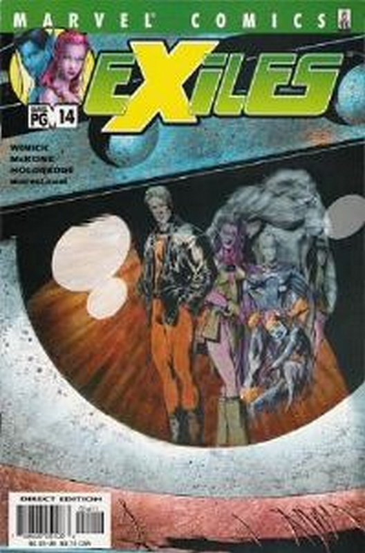 Cover of Exiles (Vol 1) #14. One of 250,000 Vintage American Comics on sale from Krypton!