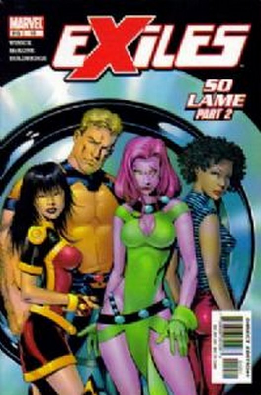 Cover of Exiles (Vol 1) #19. One of 250,000 Vintage American Comics on sale from Krypton!