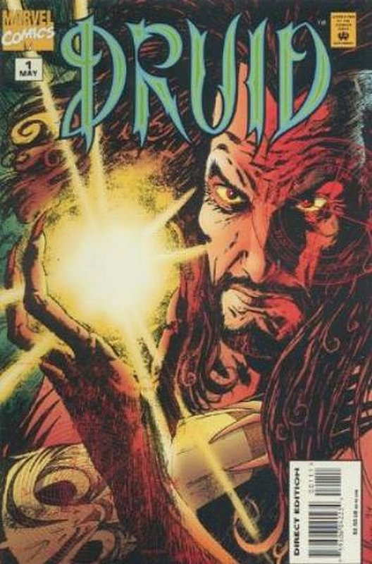 Cover of Druid (1995 Ltd) #1. One of 250,000 Vintage American Comics on sale from Krypton!