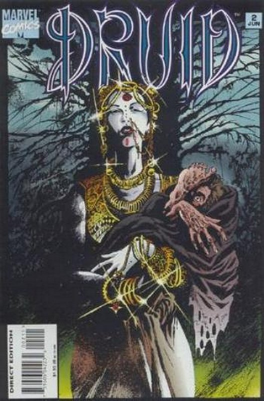 Cover of Druid (1995 Ltd) #2. One of 250,000 Vintage American Comics on sale from Krypton!