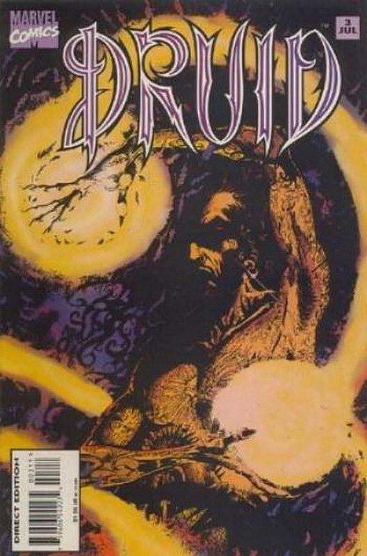 Cover of Druid (1995 Ltd) #3. One of 250,000 Vintage American Comics on sale from Krypton!