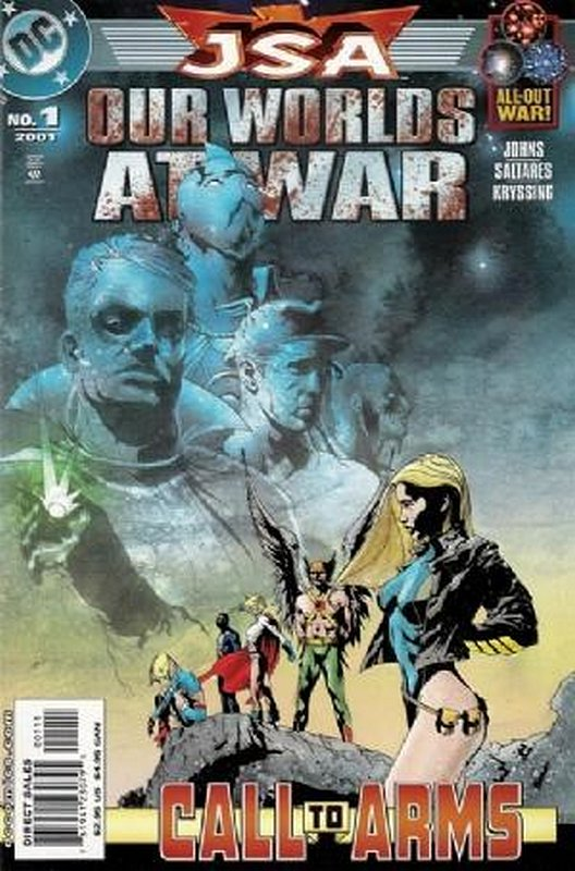 Cover of JSA: Our Worlds at War (2001 One Shot) #1. One of 250,000 Vintage American Comics on sale from Krypton!