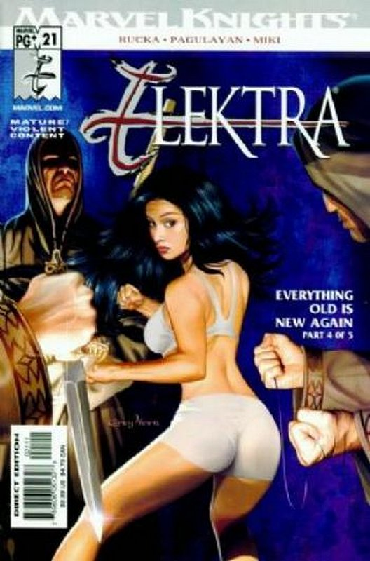 Cover of Elektra (Vol 2) #21. One of 250,000 Vintage American Comics on sale from Krypton!