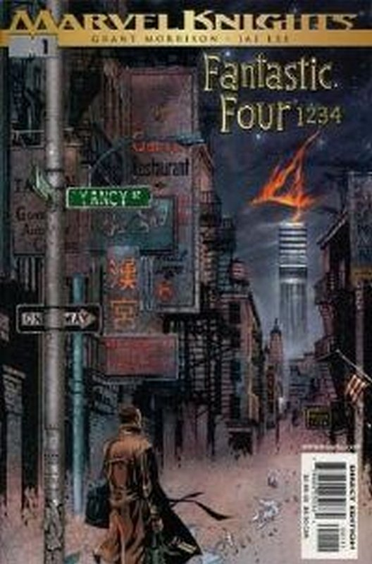 Cover of Fantastic Four: 1234 (2001 Ltd) #1. One of 250,000 Vintage American Comics on sale from Krypton!