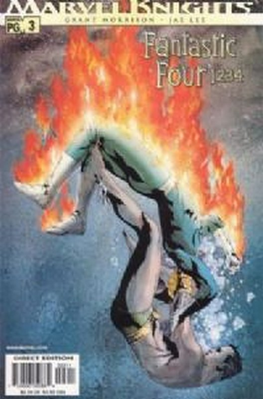 Cover of Fantastic Four: 1234 (2001 Ltd) #3. One of 250,000 Vintage American Comics on sale from Krypton!