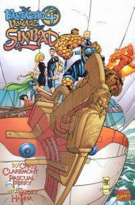 Cover of Fantastic Fourth voyage of Sinbad #1. One of 250,000 Vintage American Comics on sale from Krypton!