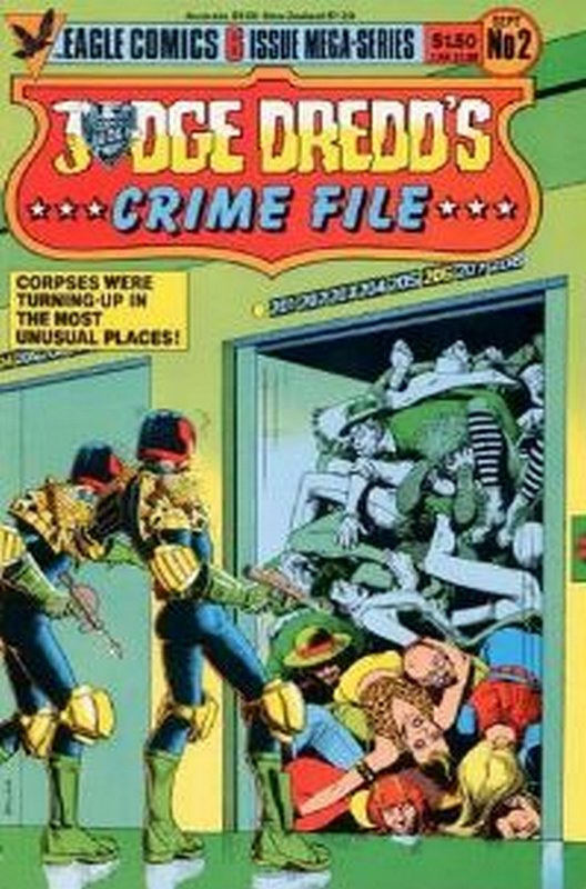 Cover of Judge Dredd: Crime File (1985 Ltd) #2. One of 250,000 Vintage American Comics on sale from Krypton!