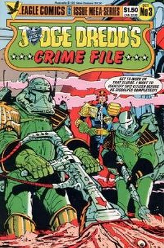 Cover of Judge Dredd: Crime File (1985 Ltd) #3. One of 250,000 Vintage American Comics on sale from Krypton!