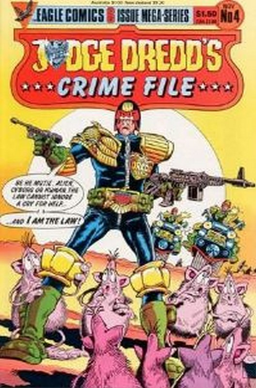 Cover of Judge Dredd: Crime File (1985 Ltd) #4. One of 250,000 Vintage American Comics on sale from Krypton!