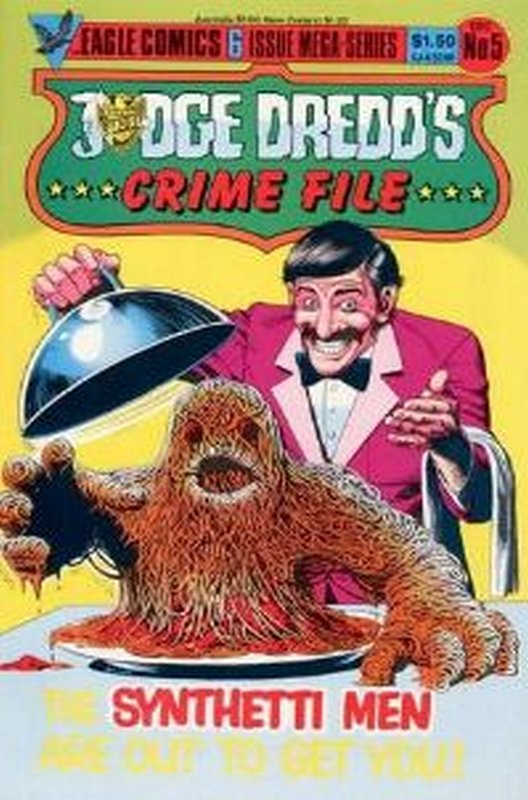 Cover of Judge Dredd: Crime File (1985 Ltd) #5. One of 250,000 Vintage American Comics on sale from Krypton!