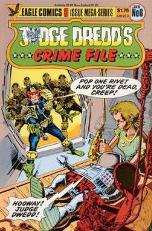Cover of Judge Dredd: Crime File (1985 Ltd) #6. One of 250,000 Vintage American Comics on sale from Krypton!
