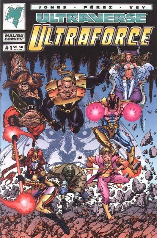 Cover of Ultraforce (Vol 1) #1. One of 250,000 Vintage American Comics on sale from Krypton!