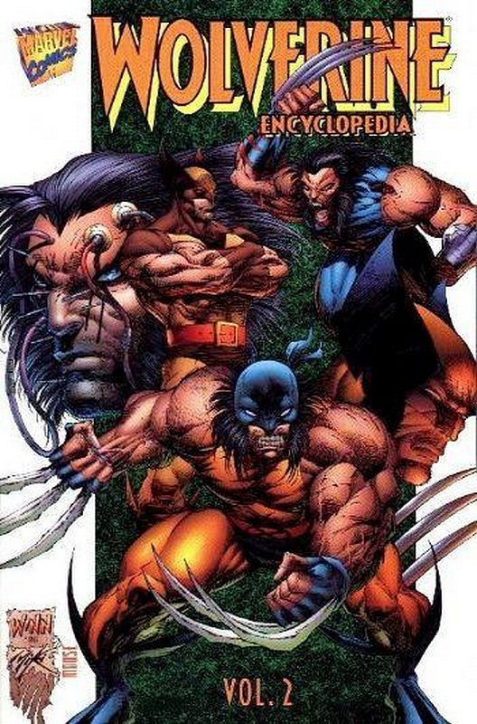 Cover of Wolverine: Encylopedia (1996 Ltd) #2. One of 250,000 Vintage American Comics on sale from Krypton!