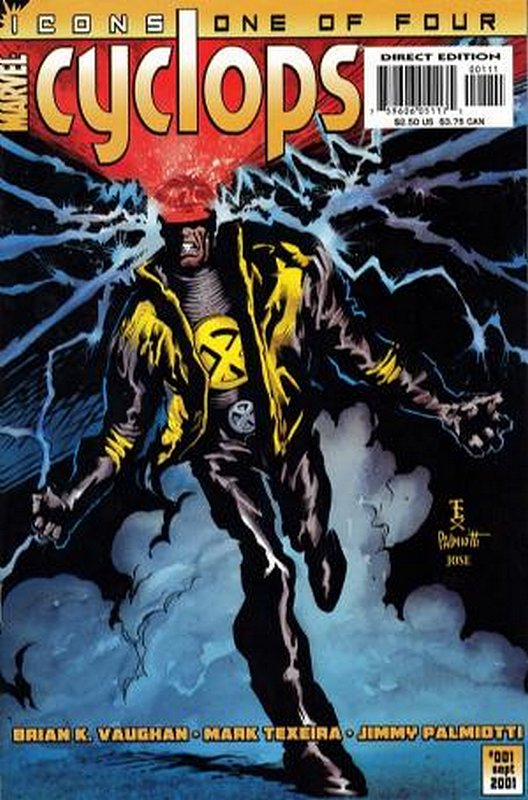 Cover of Cyclops (2001 Ltd) #1. One of 250,000 Vintage American Comics on sale from Krypton!