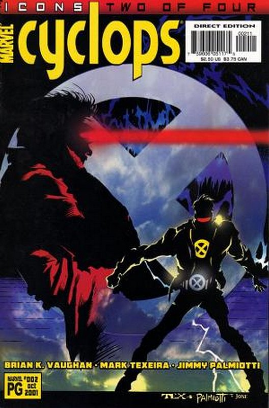 Cover of Cyclops (2001 Ltd) #2. One of 250,000 Vintage American Comics on sale from Krypton!