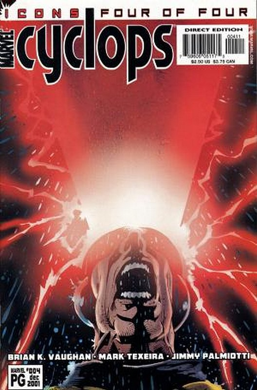Cover of Cyclops (2001 Ltd) #4. One of 250,000 Vintage American Comics on sale from Krypton!