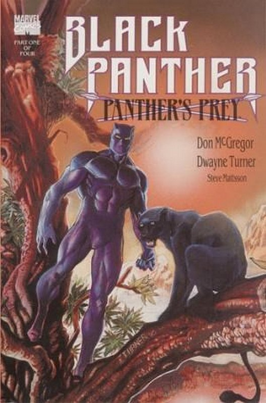Cover of Black Panther: Panthers Prey (1991 Ltd) #1. One of 250,000 Vintage American Comics on sale from Krypton!