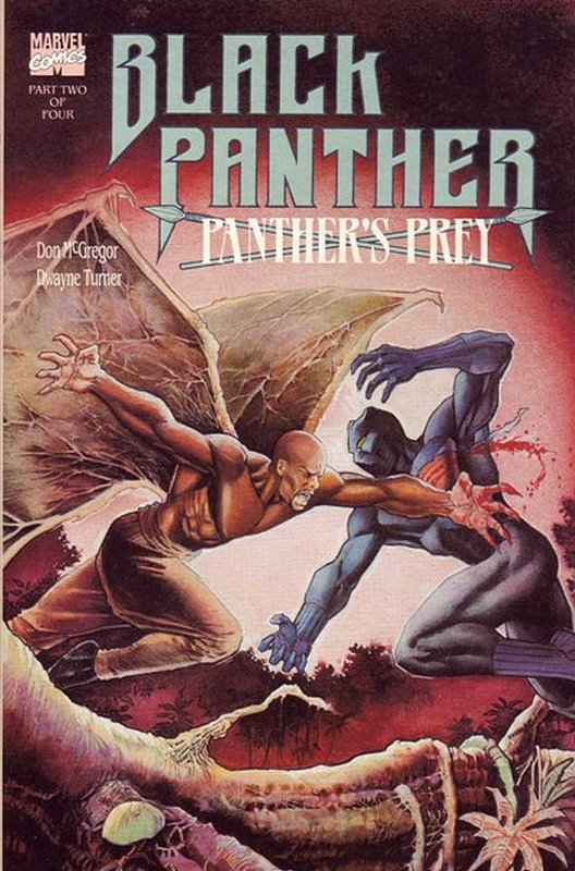 Cover of Black Panther: Panthers Prey (1991 Ltd) #2. One of 250,000 Vintage American Comics on sale from Krypton!